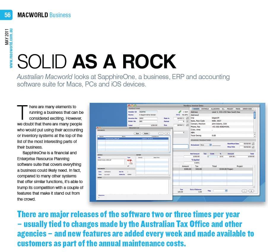 MacWorld review