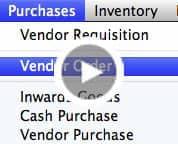 Vendor Order