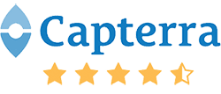 SapphireOne Capterra review 4.5 star