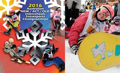 NSW Interschools Snowsports championship 2016 Sponsors by SapphireOne
