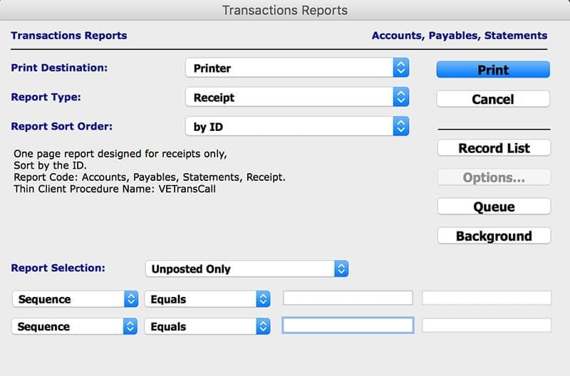 SapphireOne Accounting Software Accounts Payable