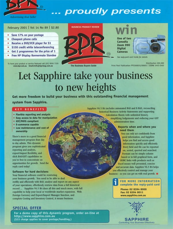 Let SapphireOne take care your accounting system