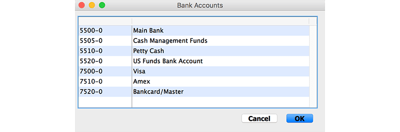 SapphireOne Accounts Payable payment for vendor for mac