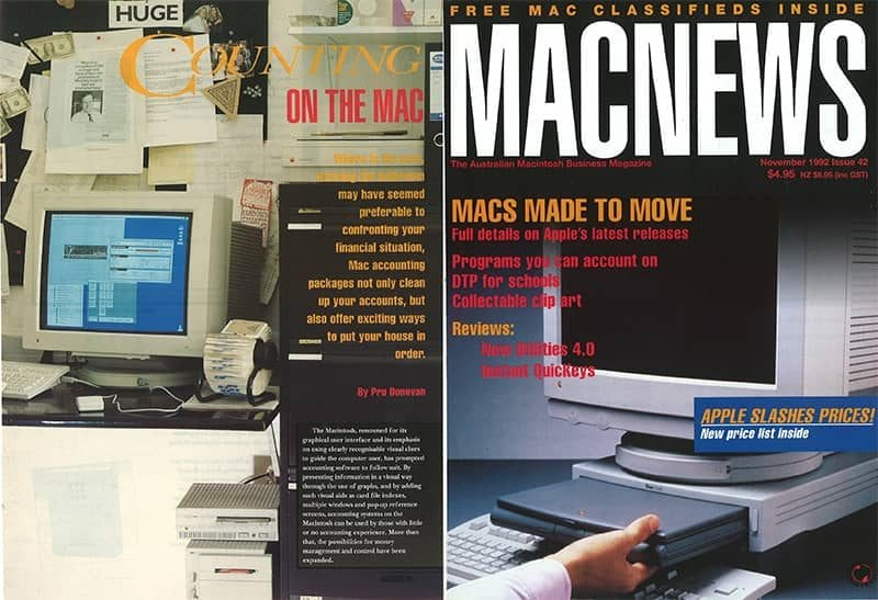 Sapphire in MACNEWS the Australian Macintosh business magazine-1992