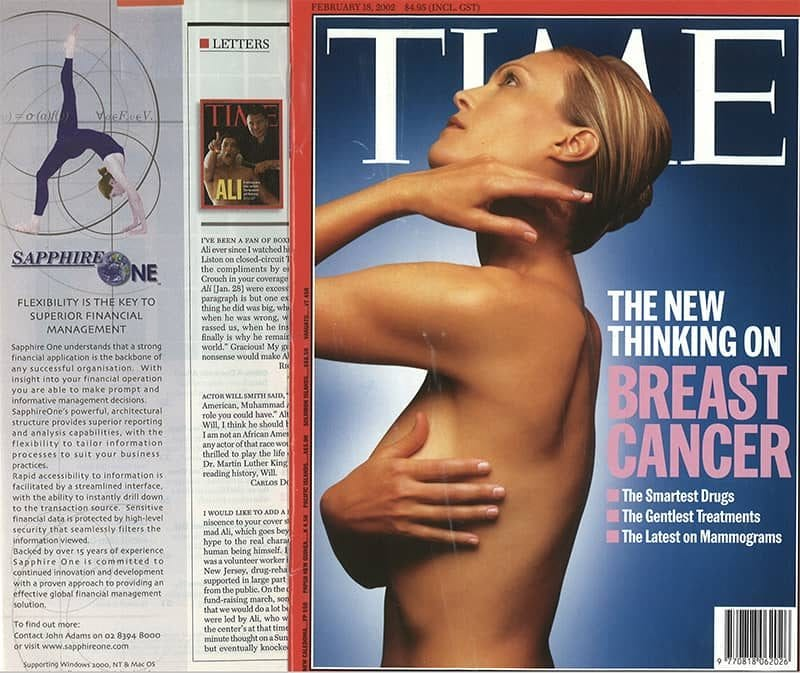 SapphireOne in Time magazine page 2002