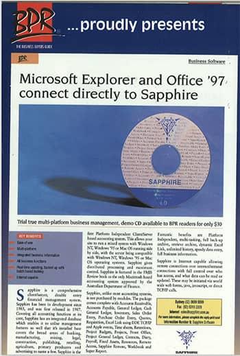 SapphireOne BPR News 1997