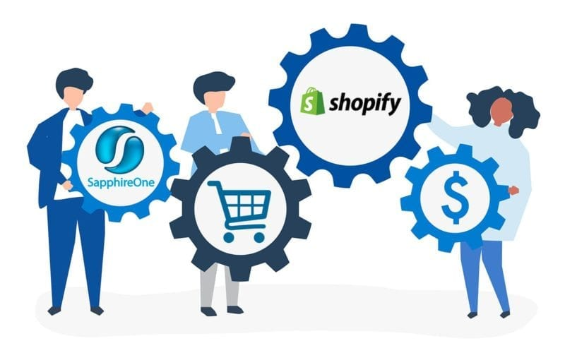 SapphireOne ERP partnered with Shopify