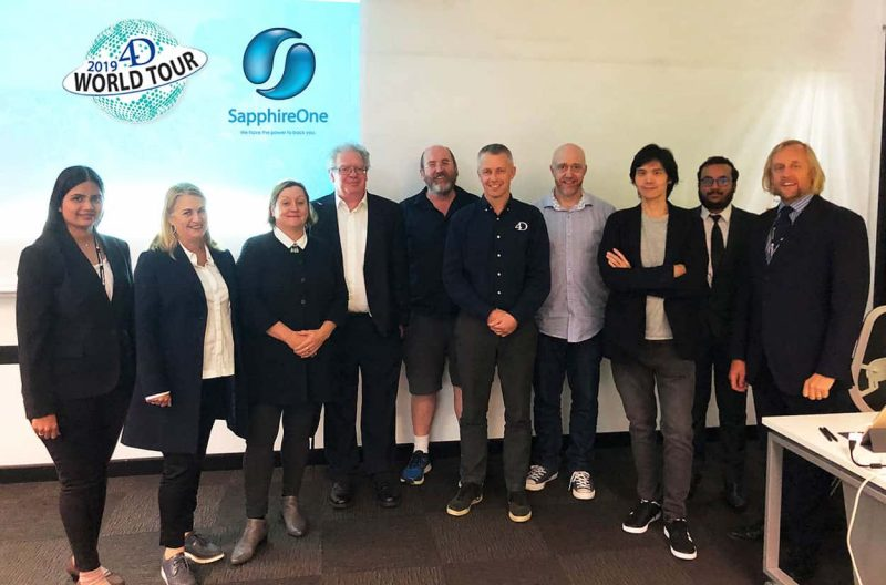 SapphireOne development team attended the annual 4D World Tour